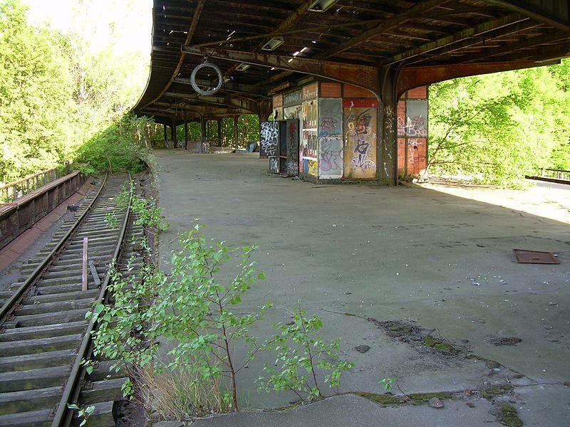 Spandau Siemensstadt Bahnhof